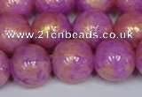 CMJ923 15.5 inches 10mm round Mashan jade beads wholesale