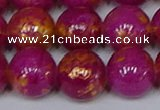 CMJ928 15.5 inches 10mm round Mashan jade beads wholesale