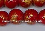 CMJ939 15.5 inches 12mm round Mashan jade beads wholesale