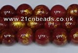 CMJ946 15.5 inches 6mm round Mashan jade beads wholesale