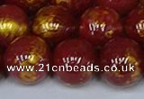 CMJ949 15.5 inches 12mm round Mashan jade beads wholesale