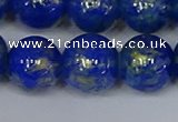 CMJ958 15.5 inches 10mm round Mashan jade beads wholesale