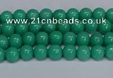 CMJ99 15.5 inches 4mm round Mashan jade beads wholesale