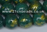 CMJ993 15.5 inches 10mm round Mashan jade beads wholesale