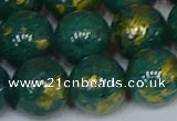 CMJ994 15.5 inches 12mm round Mashan jade beads wholesale
