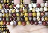 CMK347 15.5 inches 8mm round mookaite jasper beads wholesale