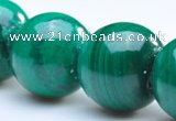 CMN02 A grade 4mm round natural malachite beads wholesale