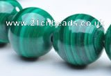 CMN08 14mm A grade round natural malachite beads wholesale