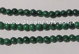 CMN200 15.5 inches 2mm round natural malachite beads wholesale