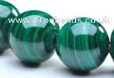 CMN34 18mm A grade round natural malachite beads Wholesale