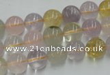 CMQ202 15.5 inches 10mm round multicolor quartz beads wholesale