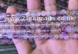 CMQ450 15.5 inches 6mm round rainbow quartz beads wholesale