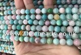 CMQ466 15.5 inches 6mm round mixed gemstone beads wholesale