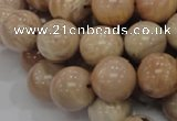 CMS04 15.5 inches 18mm round moonstone gemstone beads wholesale