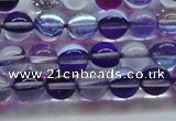 CMS1572 15.5 inches 8mm round synthetic moonstone beads wholesale