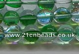 CMS1602 15.5 inches 8mm round synthetic moonstone beads wholesale