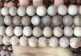 CMS1675 15.5 inches 14mm round moonstone beads wholesale