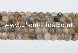 CMS2012 15.5 inches 10mm round moonstone gemstone beads