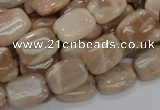 CMS27 15.5 inches 12*16mm rectangle moonstone gemstone beads wholesale