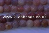 CMS502 15.5 inches 6mm round moonstone beads wholesale
