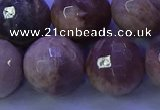 CMS576 15.5 inches 18mm faceted round moonstone gemstone beads