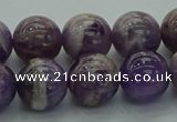 CNA1004 15.5 inches 12mm round dogtooth amethyst beads wholesale