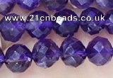 CNA1166 15.5 inches 6mm faceted round amethyst beads wholesale