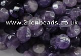 CNA56 15.5 inches 10mm faceted coin grade AB+ natural amethyst beads