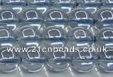CNC512 15.5 inches 12mm round dyed natural white crystal beads