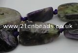 CNG1048 15.5 inches 12*16mm - 25*35mm nuggets charoite gemstone beads
