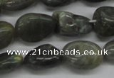 CNG230 15.5 inches 15*20mm nuggets labradorite gemstone beads