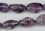 CNG25 15.5 inches 13*20mm nuggets amethyst gemstone beads