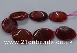CNG2691 15.5 inches 40*50mm - 45*55mm freeform agate gemstone beads