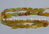 CNG2900 15.5 inches 12*16mm - 15*25mm freeform agate beads
