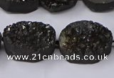 CNG2977 15.5 inches 13*18mm - 20*25mm freeform druzy agate beads