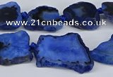 CNG3172 15.5 inches 15*20mm - 25*30mm freeform druzy agate beads