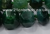 CNG3179 15.5 inches 12*16mm - 25*30mm nuggets agate beads