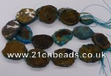 CNG3191 15.5 inches 35*45mm - 40*50mm freeform opal gemstone beads