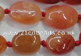 CNG347 15.5 inches 12*16mm - 20*28mm nuggets agate gemstone beads