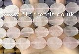 CNG3700 15.5 inches 15*20mm freeform rough rose quartz beads