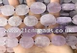 CNG3701 15.5 inches 15*20mm freeform rough lavender amethyst beads