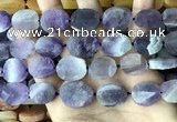 CNG3702 15.5 inches 15*20mm freeform rough dogtooth amethyst beads