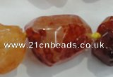 CNG414 15.5 inches 18*20mm - 28*40mm nuggets agate gemstone beads