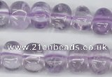 CNG45 15.5 inches 11*15mm nuggets amethyst gemstone beads