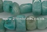 CNG5038 15.5 inches 10*14mm - 13*16mm nuggets amazonite beads