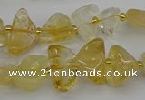 CNG5331 15.5 inches 6*8mm - 13*18mm nuggets citrine beads