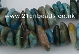 CNG5438 15.5 inches 3*10mm - 5*18mm nuggets apatite beads