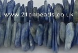 CNG5589 3*15mm - 6*20mm nuggets natural blue kyanite beads