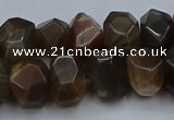 CNG5770 15.5 inches 12*16mm - 13*18mm faceted nuggets moonstone beads