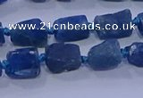 CNG5910 15.5 inches 4*6mm - 6*10mm nuggets rough apatite beads